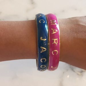Marc by Marc Jacobs Set of 2 Enamel Bracelets